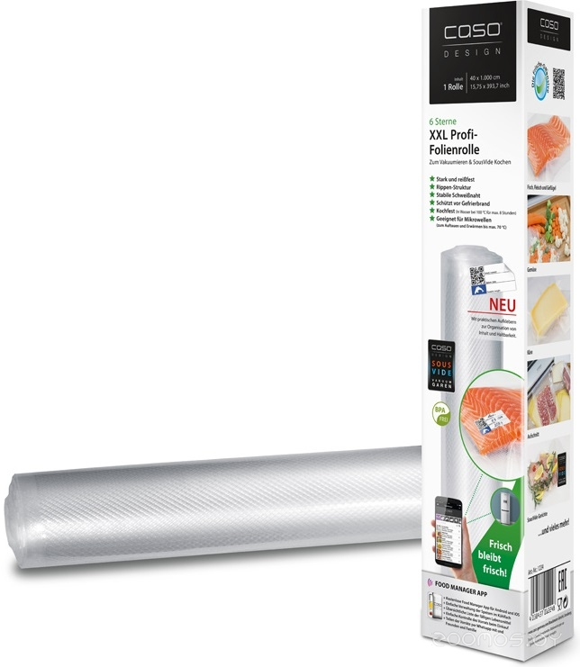 Рулон для вакуумной упаковки Caso VC 40x1000