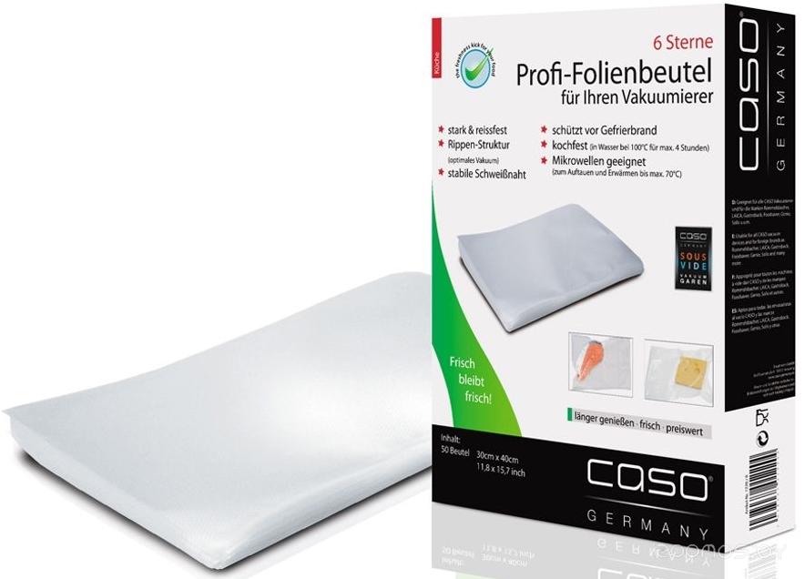 Пакеты для вакуумного упаковщика Caso VK 30x40