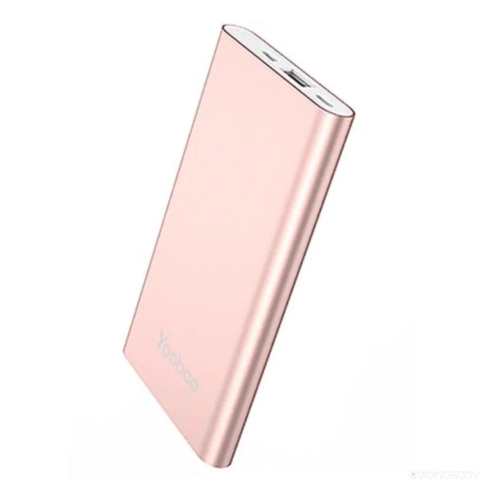Портативное зарядное устройство Yoobao YB-PL10 (Rose Gold)