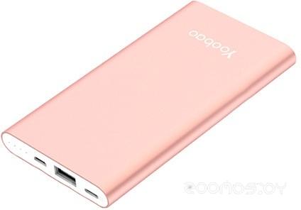 Портативное зарядное устройство Yoobao YB-PL5 (Rose Gold)