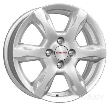 Колёсные диски K&K КС693 6x15/4x100 D54.1 ET48 Сильвер