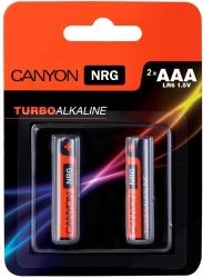 Canyon NRG alkaline battery AAA 2pcs/pack