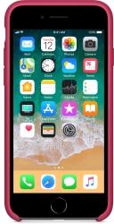 Apple Silicone Case для iPhone 8 / 7 Rose Red