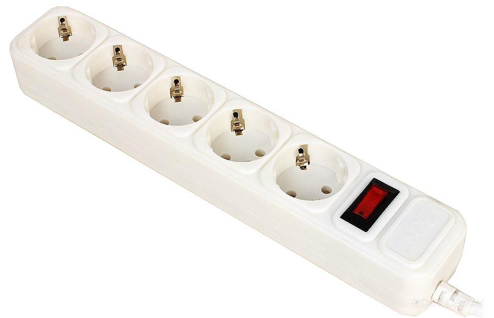 Сетевой фильтр 3Cott 3C-SP1005W-1.8