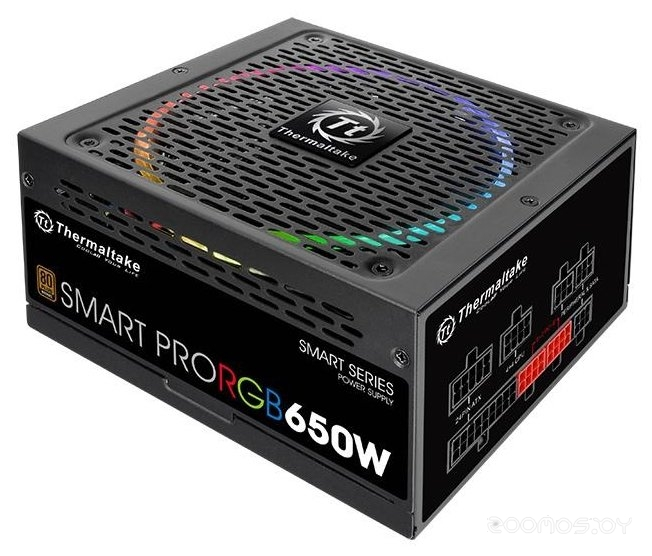 Блок питания THERMALTAKE Smart Pro RGB Bronze 650W