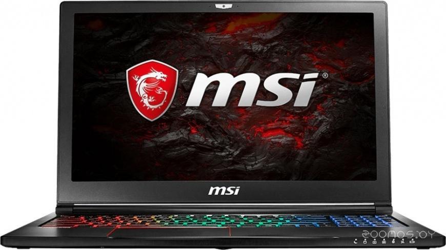 Ноутбук MSI GS63VR 7RF-496RU