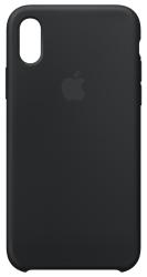 Apple Silicone Case для iPhone X Black