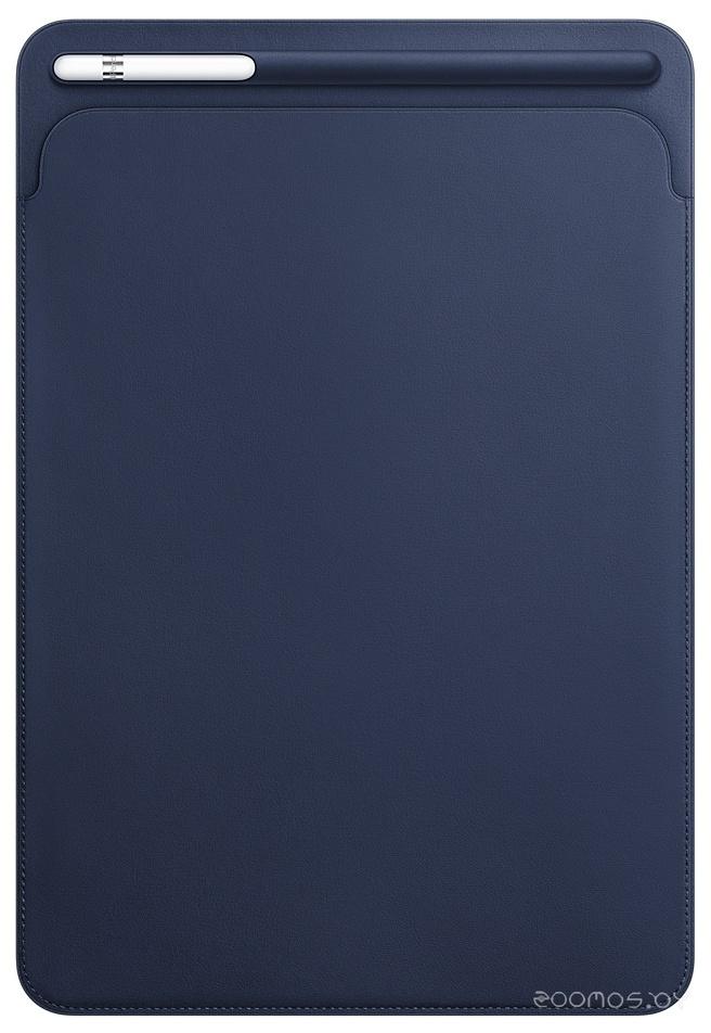 Apple Leather Sleeve for 10.5 iPad Pro Midnight Blue [MPU22]
