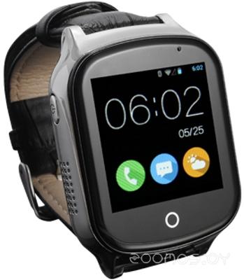 Умные часы Smart Baby Watch T100 (Black)