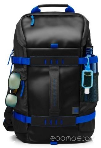 HP Odyssey Backpack 15.6 (Black-Blue)