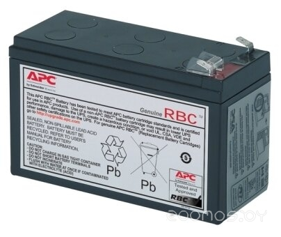 Аккумулятор для ИБП APC RBC2 (12В/7 А·ч)