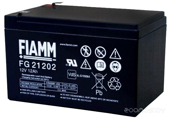 Аккумулятор для ИБП FIAMM FG21202 (12В/12 А·ч)
