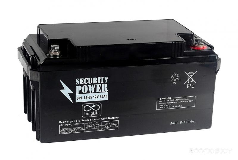 Аккумулятор для ИБП Security Power SPL 12-65 (12В/65 А·ч)