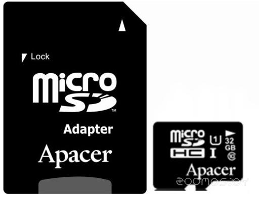 Карта памяти Apacer AP32GMCSH10U1-R