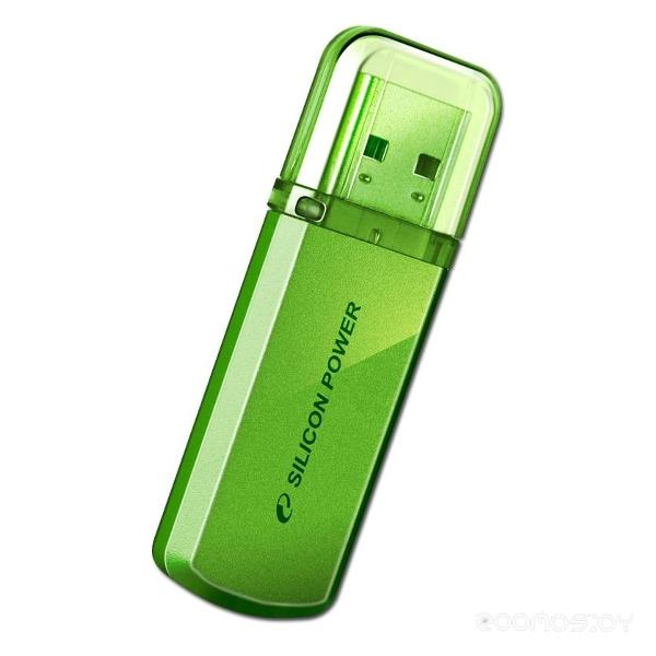 USB Flash Silicon Power Helios 101 green 8Gb
