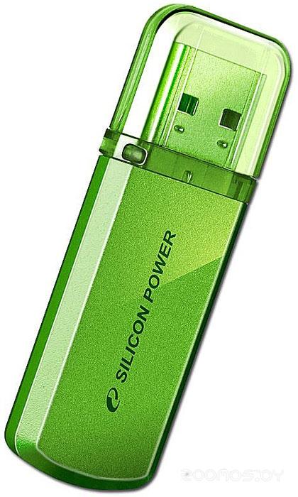 USB Flash Silicon Power Helios 101 Green 16Gb