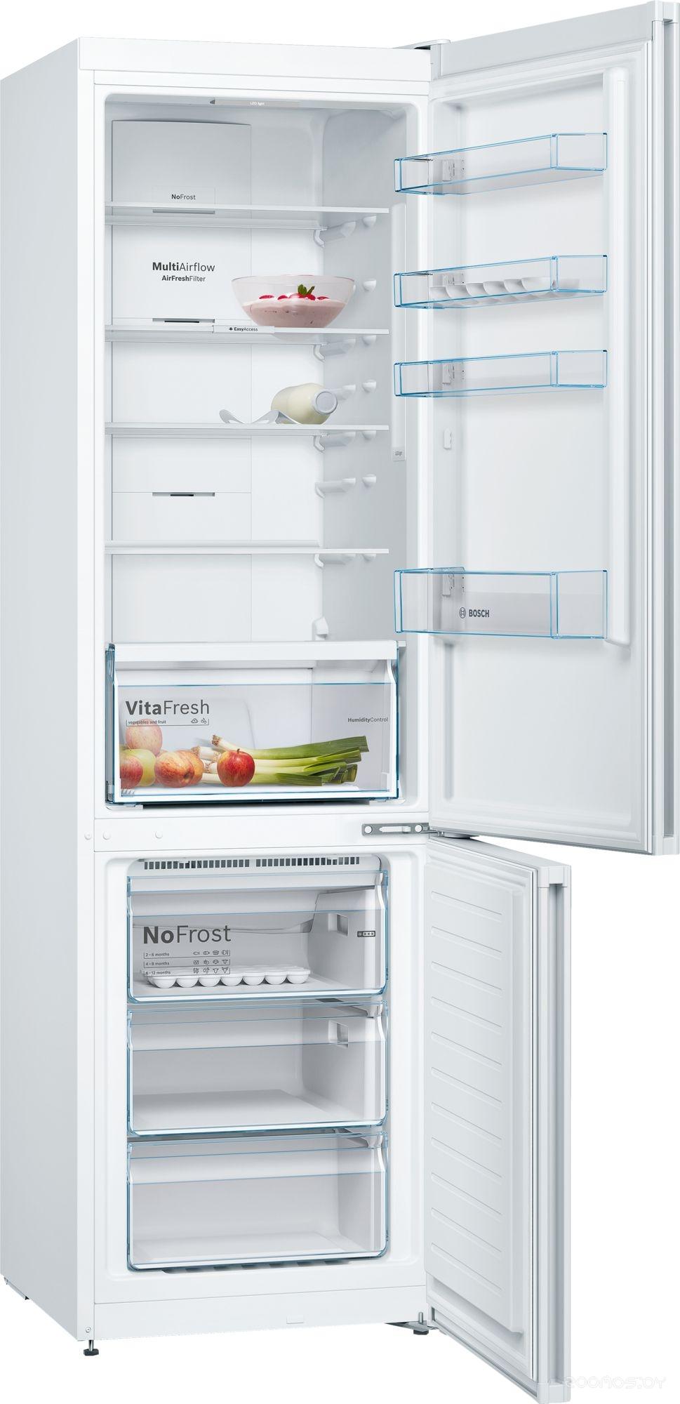 Холодильник с нижней морозильной камерой Bosch KGN39VW2AR