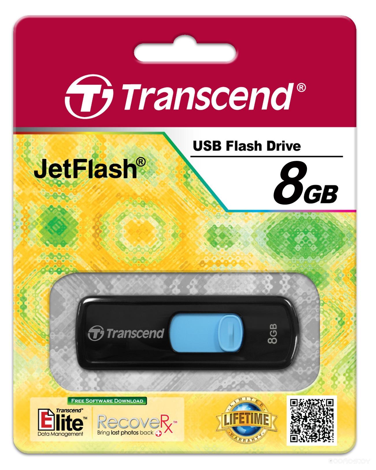 USB Flash Transcend JetFlash 500 8Gb