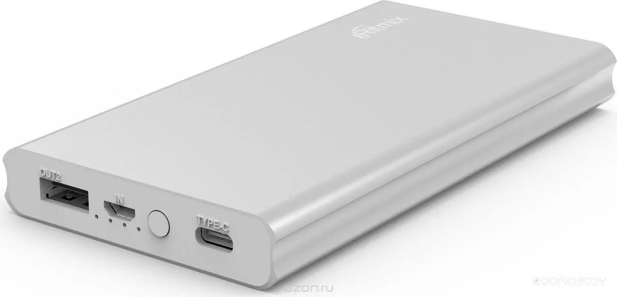 Портативное зарядное устройство Ritmix RPB-10977PQC (Silver)