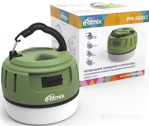 Портативное зарядное устройство Ritmix RPB-5800LT (Green-Black)