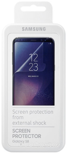 Защитная плёнка для телефона Samsung ET-FG950CTEG