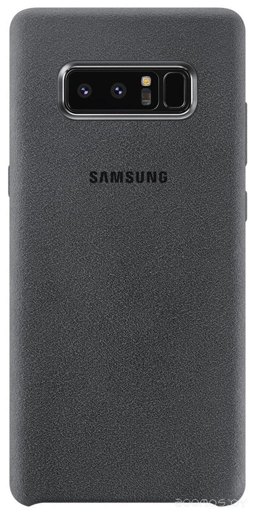 Чехол Samsung Alcantara Cover Note8 (Dark Grey)
