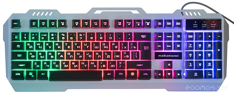 Клавиатура Nakatomi KG-35U (Silver)