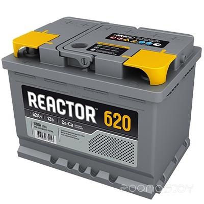 Автомобильный аккумулятор AKOM Реактор 6СТ-62 (62 А·ч)