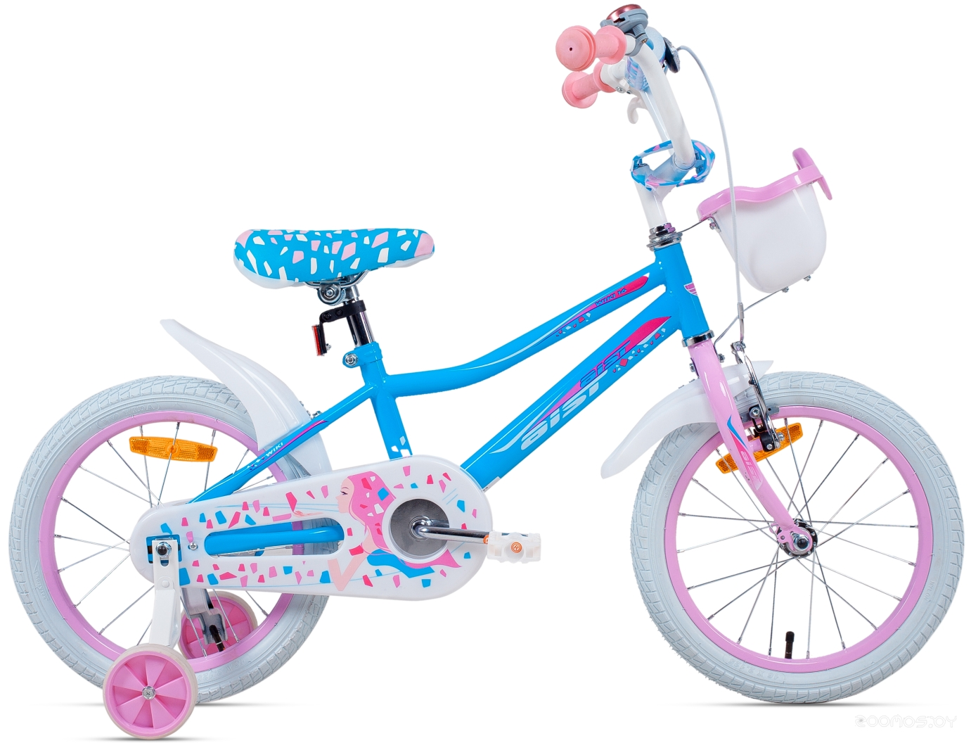 Детский велосипед Aist Wiki 16 (голубой, 2016)