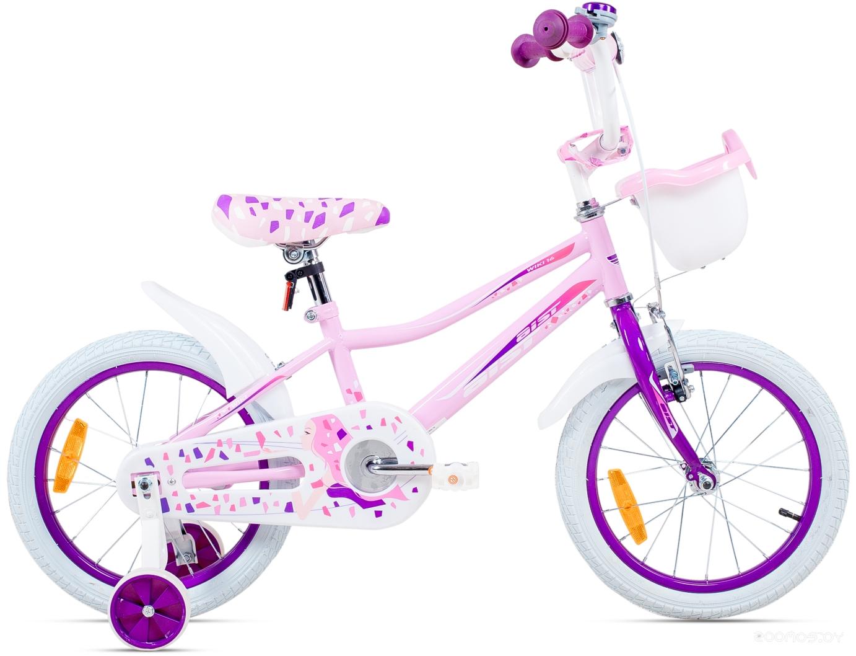 Детский велосипед Aist Wiki 16 (розовый, 2016)