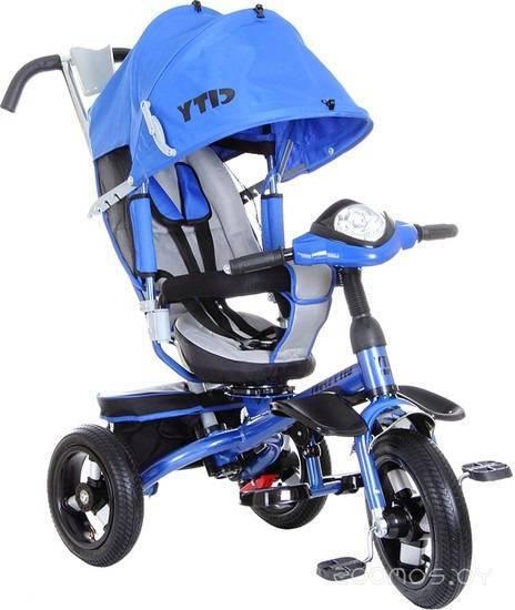 Детский велосипед Trike City Sport 5588A-2 (синий)