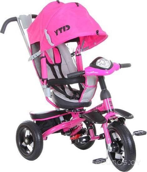 Детский велосипед Trike City Sport 5588A-2 (розовый)