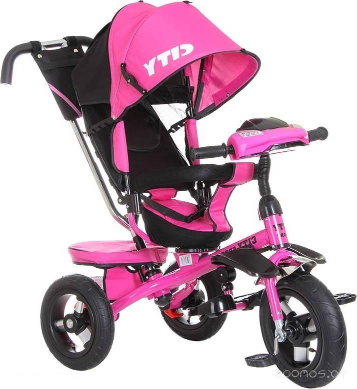 Детский велосипед Trike City Sport 5588A-1 (розовый)