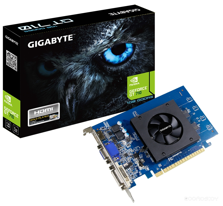 Видеокарта Gigabyte GeForce GT 710 1024MB GDDR5