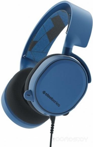 Компьютерная гарнитура SteelSeries Arctis 3 (Boreal Blue)