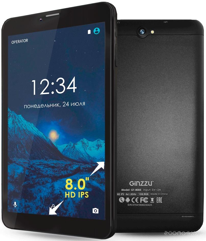 Планшет Ginzzu GT-8105 (Black)