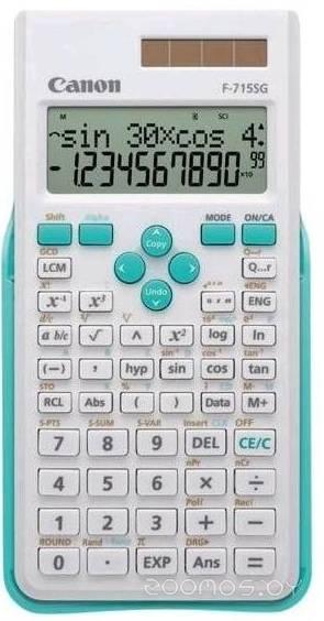 Калькулятор Canon F-715SG-WHB