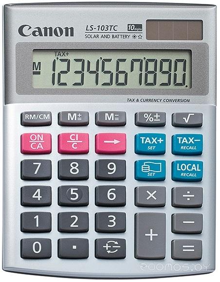 Калькулятор Canon LS-103TC