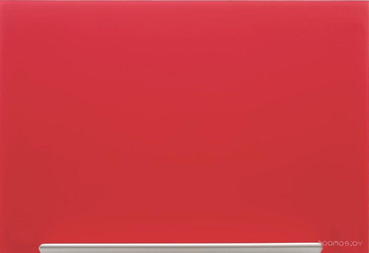 Nobo Diamond Glass Board Magnetic 1264x711 (красный)