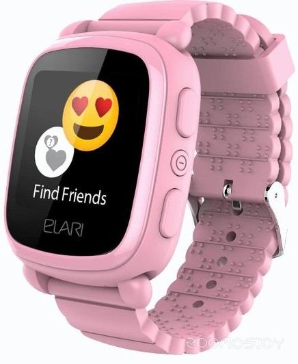 Умные часы Elari KidPhone 2 (Pink)
