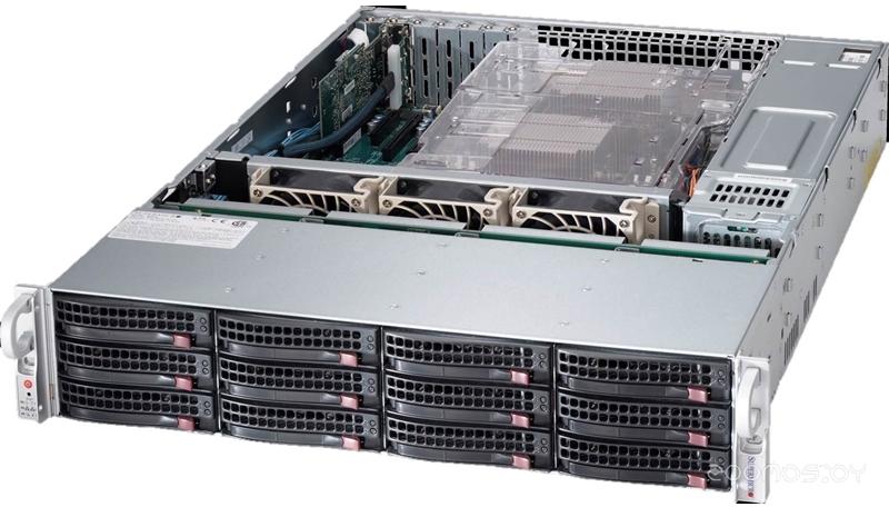 Серверная платформа Supermicro SSG-6028R-E1CR12T