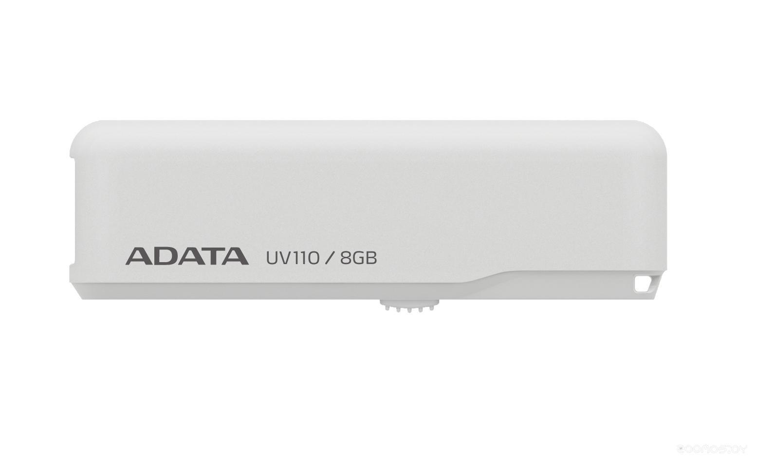 USB Flash A-Data DashDrive UV110 white 8GB