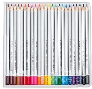 Карандаши цветные 24 цвета шестигранные Yalong YL 830051-24