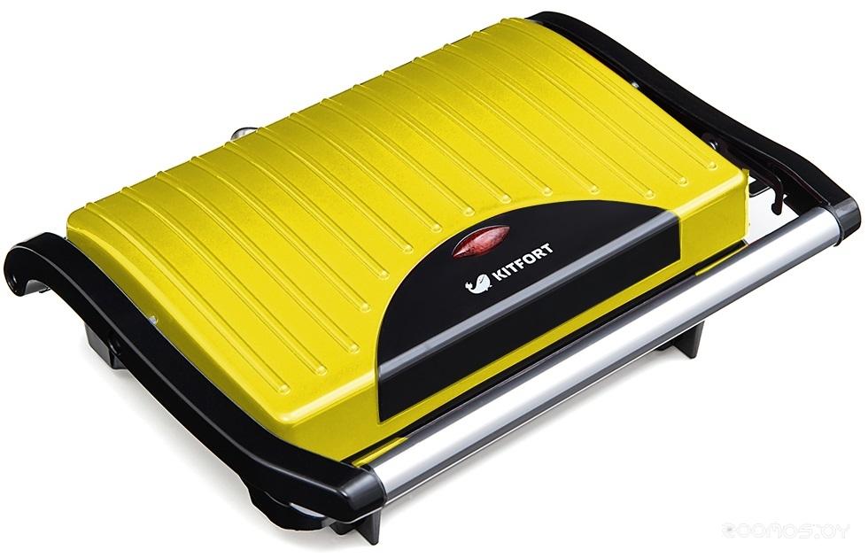 Бутербродница Kitfort KT-1609-2 (Yellow)