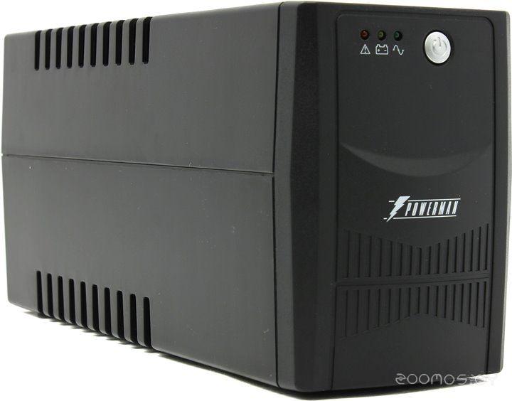 Источник бесперебойного питания POWERMAN Back Pro 600I Plus