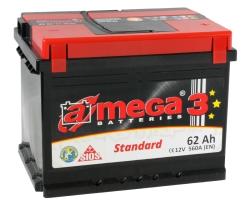 A-mega Standard 62 R (62 А·ч)