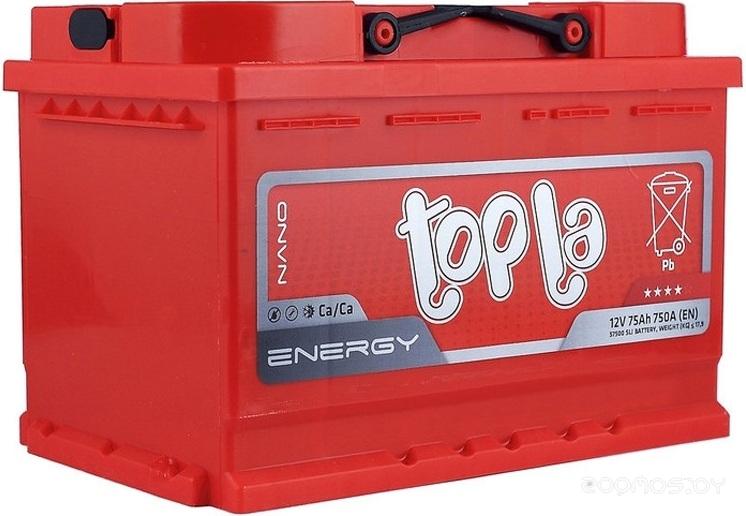 Автомобильный аккумулятор Topla Energy (75 А/ч)
