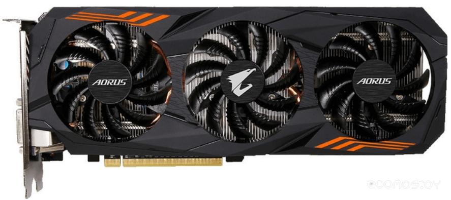 Видеокарта Gigabyte AORUS GeForce GTX 1060 6G rev. 2 (GV-N1060AORUS-6GD)