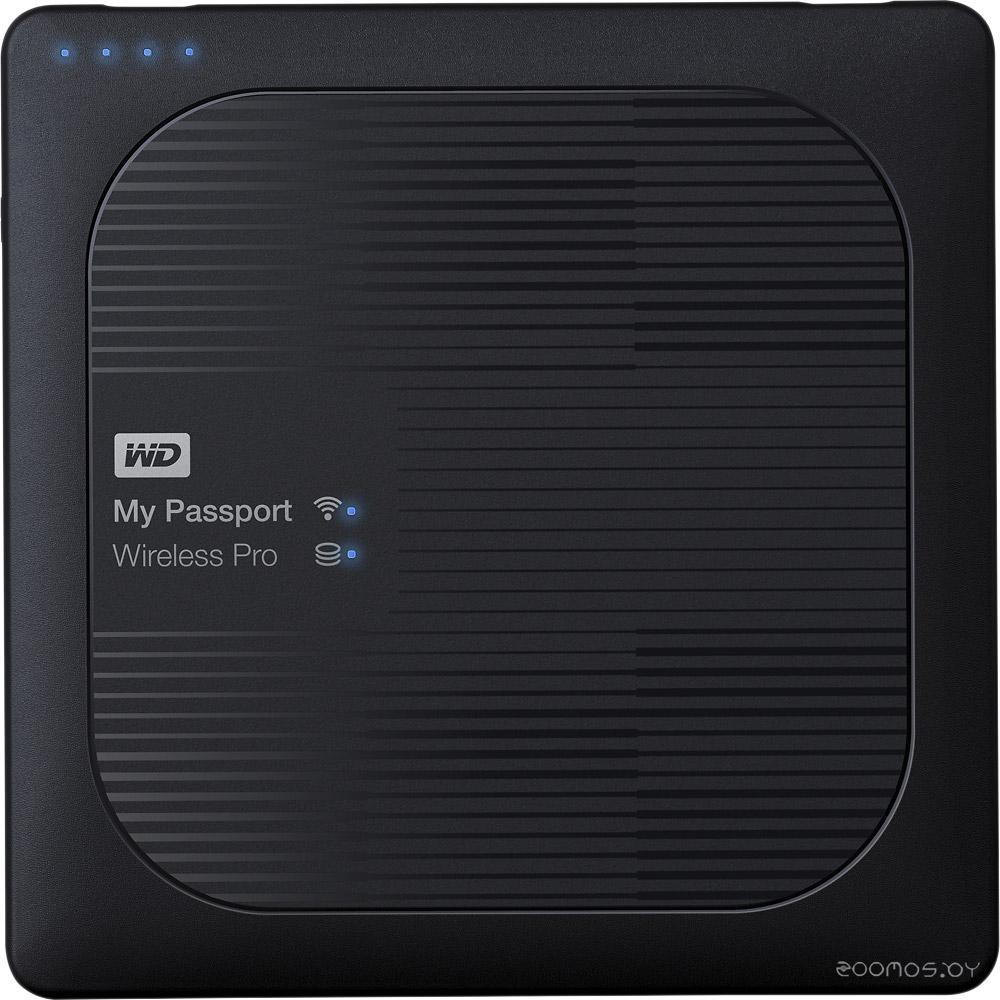 Внешний жёсткий диск Western Digital My Passport Wireless Pro 1Tb