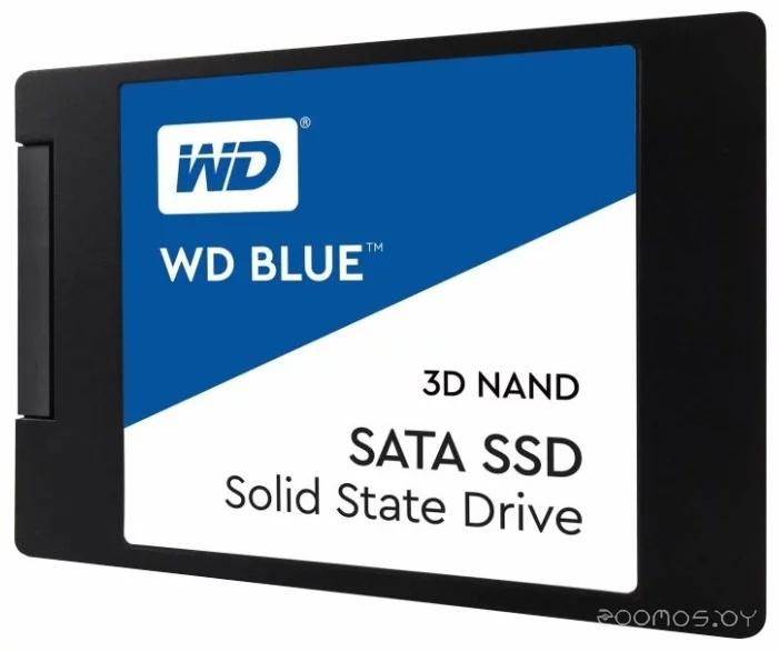 Внешний жёсткий диск Western Digital WD BLUE 3D NAND SATA SSD 1 TB (WDS100T2B0A)